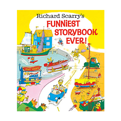 Richard Scarry's Funniest Story Book Ever