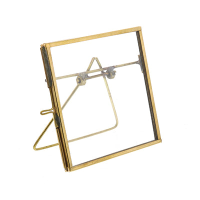 Easel Brass Monroe Picture Frame
