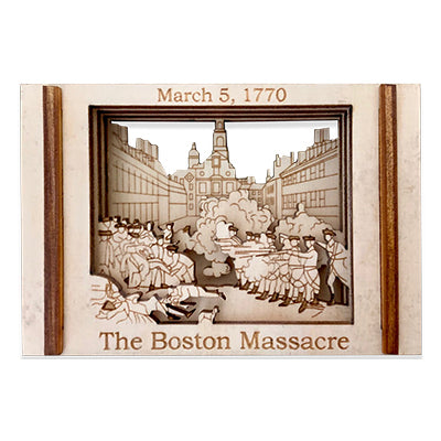 Boston Massacre - Matchbox Miniature Histories