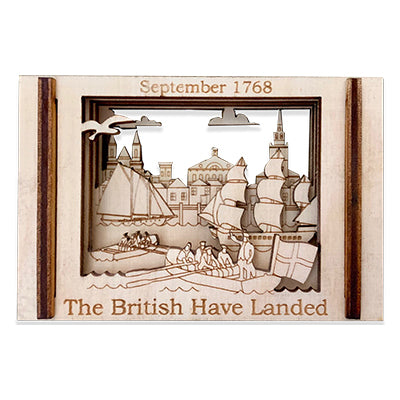 British Warships Have Landed - Matchbox Miniature Histories