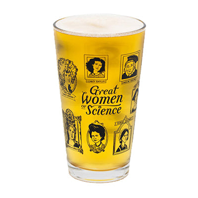 Great Women of Science Pint Glass