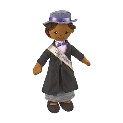 African American Suffragist Doll