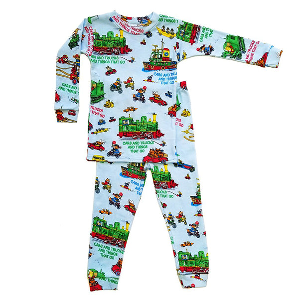 Richard Scarry Toddler Pajamas