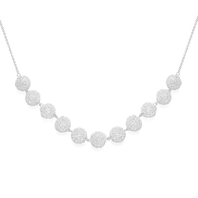 Silver Cristabel Necklace