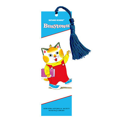 Richard Scarry Huckle Cat Bookmark