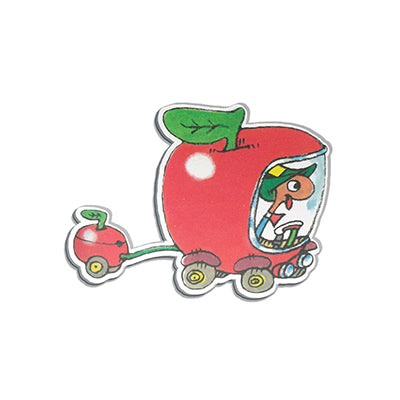 Richard Scarry Lowly Worm Shaped Magnet