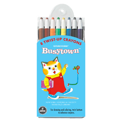 Richard Scarry's Busytown Twist-Crayon Pack