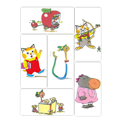 Richard Scarry's Busytown Magnet - Set of 6