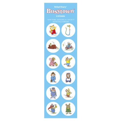 Richard Scarry's Busytown Sticker Set