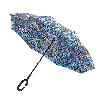 Louis C Tiffany Clematis Umbrella Stick