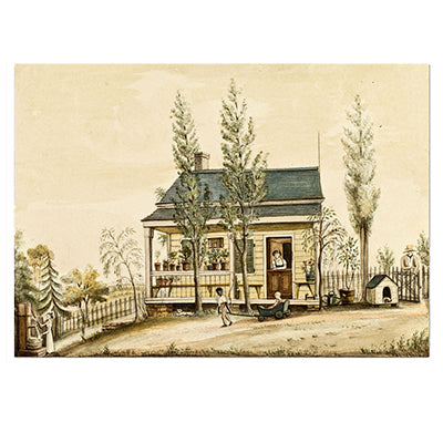 Baroness Hyde de Neuville - The Cottage Print