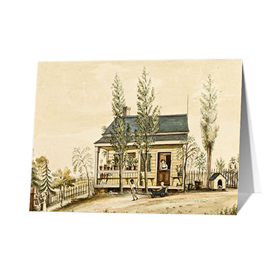 Baroness Hyde de Neuville - The Cottage Notecard