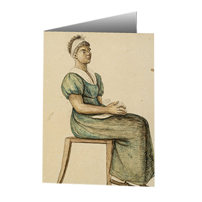 Baroness Hyde de Neuville - Cook in Ordinary Costume Notecard