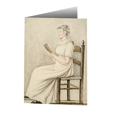 Baroness Hyde de Neuville - Chambermaid Reading Notecard