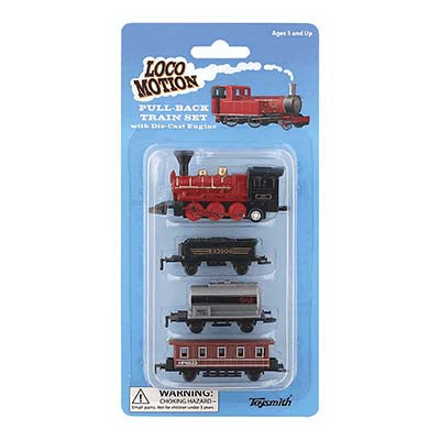Locomotion Pull-Back Train Set