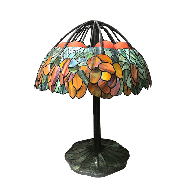 Lotus Flower Tiffany Lamp