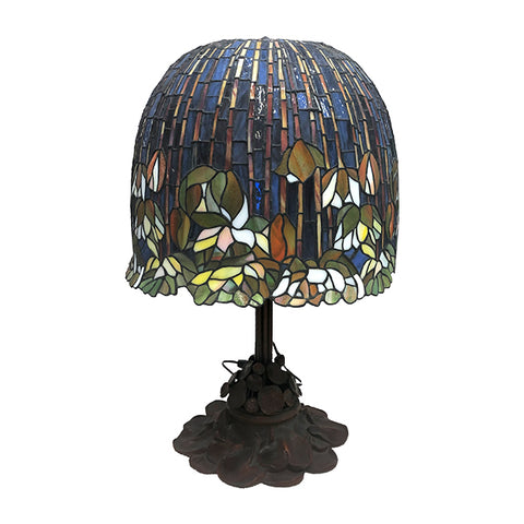 Louis C Tiffany Water Lily Lamp