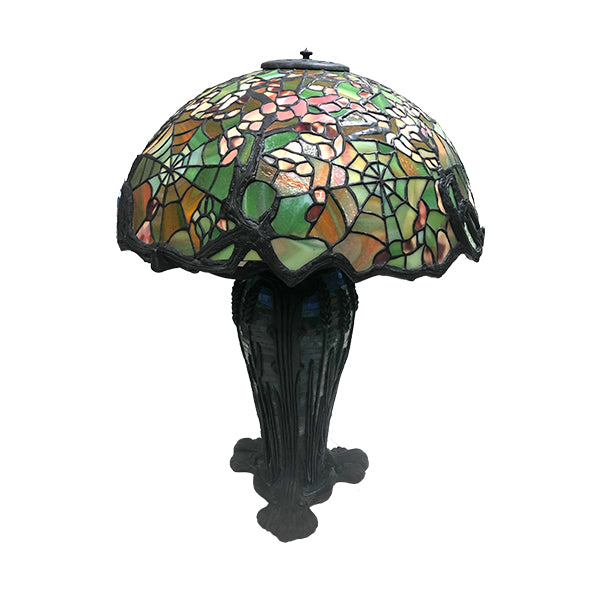 Cobweb Apple Blossom Tiffany Lamp