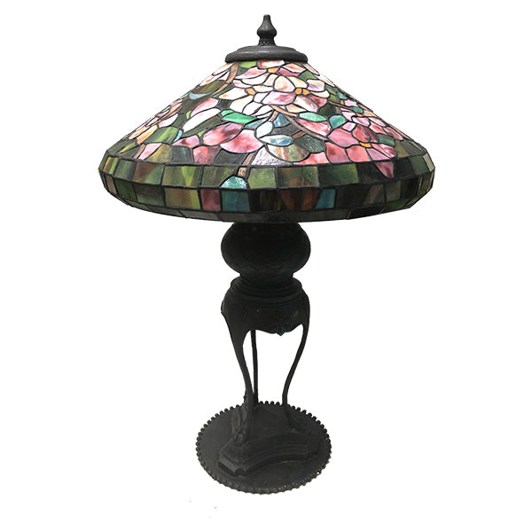 Pink Dogwood Tiffany Lamp