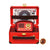 Red Portable Wireless Radio and Bluetooth Speaker