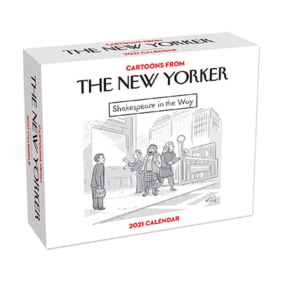 New Yorker Day to Day 2021 Calendar