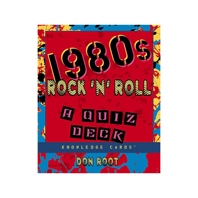 1980s Rock n' Roll Quiz Deck