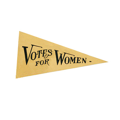 Votes for Women Mini Pennant Magnet