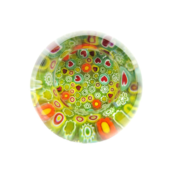 Millefiori paper weight by Robin Lehman