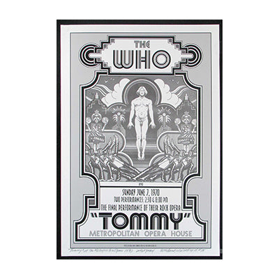The Who Met Opera 1970 Poster