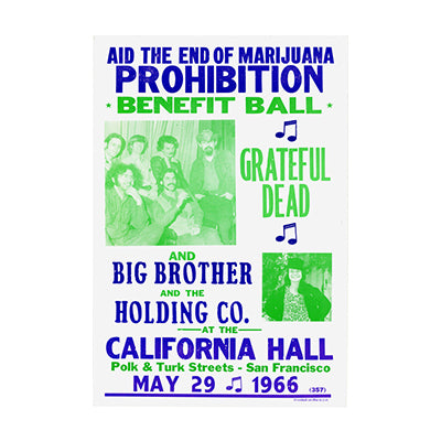 End Marijuana Prohibition Nostalgia Print