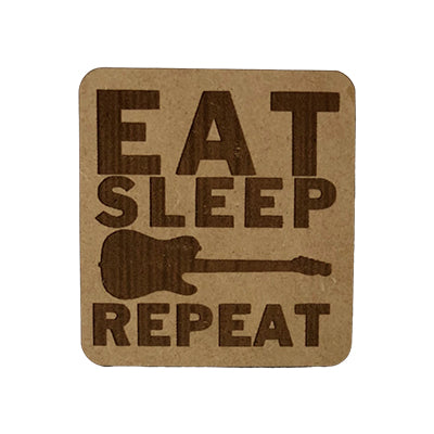 Eat Sleep Guitar Quote Magnet