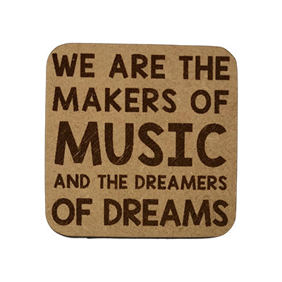 Makers of Music Quote Magnet