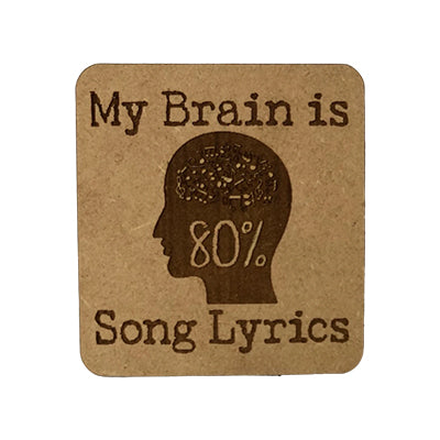 Song Lyrics Quote Magnet