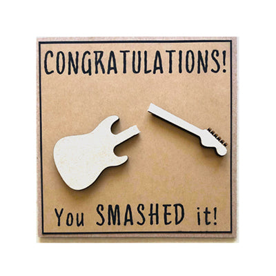 Congratulations You Smashed Notecard