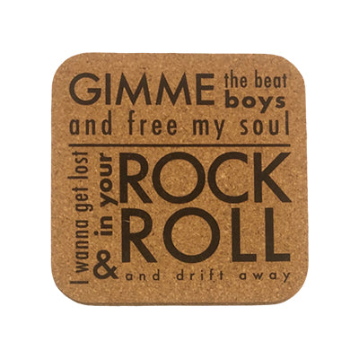 Gimme the Beat Quote Coaster