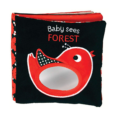 Forest: A Soft Book and Mirror for Baby! (Baby Sees Cloth Books)