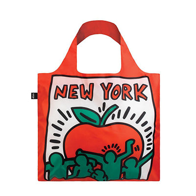 Haring New York Fold Up Tote Bag
