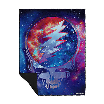 Grateful Dead Cosmic Stealie Blanket