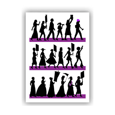 Women March Notecard
