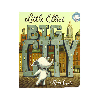 Little Elliot, Big City Board Book