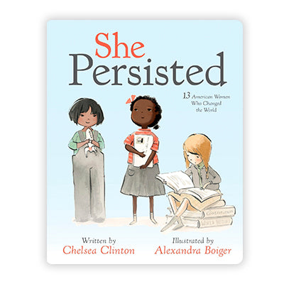She Persisted Board Book