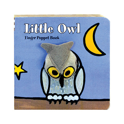 Little Owl Finger Puppet