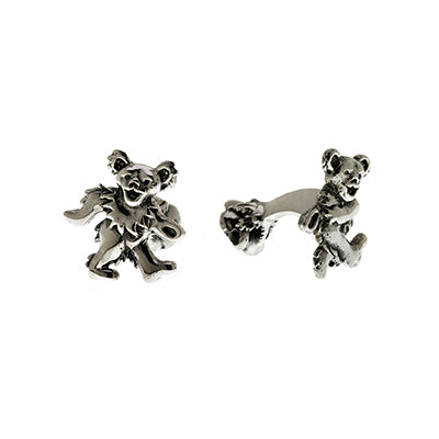 Grateful Dead Dancing Bear Cufflink
