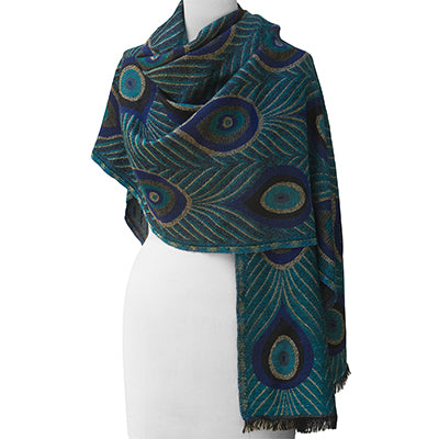 Louis C Tiffany Peacock Shawl