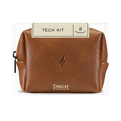 Mini Cognac Brown Tech Kit