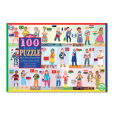 Children of the World Puzzle 100 piece