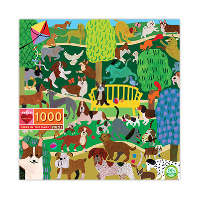 Dogs in the Park Puzzle 1000 piece