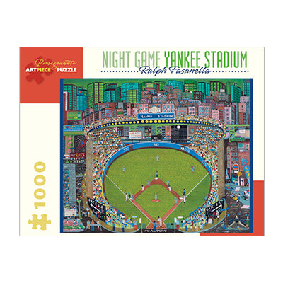 Night Game Yankee Stadium 1000 pc puzzle
