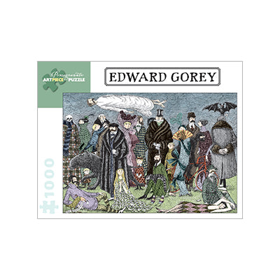 Edward Gorey 1000 pc puzzle