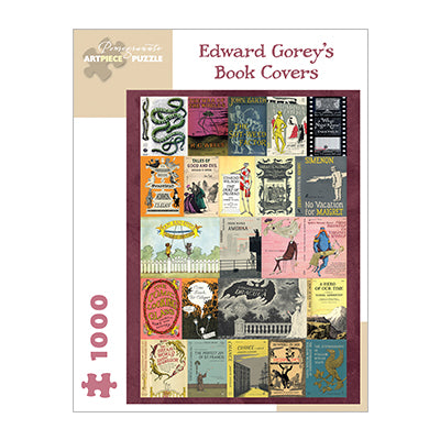 Edward Gorey Book Covers 1000 pc puzzle
